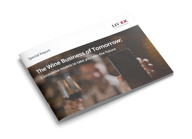 Wine business of tomorrow front cover image